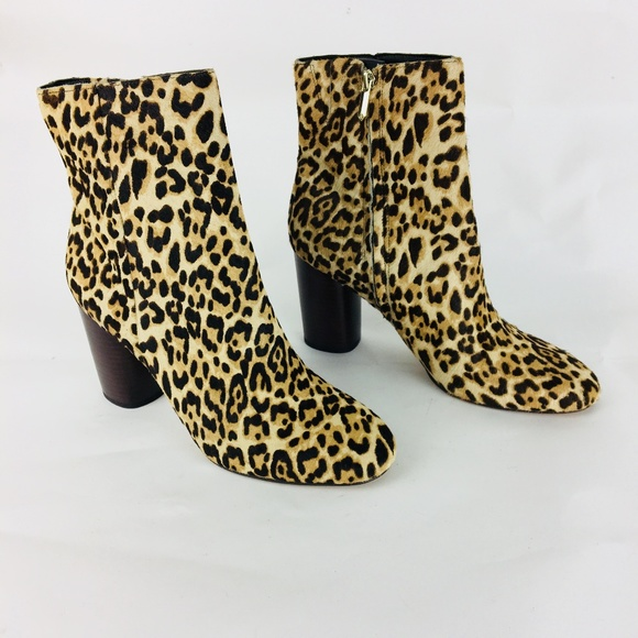 63ce7d1869ed Sam Edelman Shoes   New Corra Leopard Boots   Poshmark